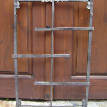 Wrought iron  Grates <br> 1