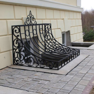 Wrought iron  Grates <br> 10