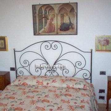 Wrought iron bed<br> 11