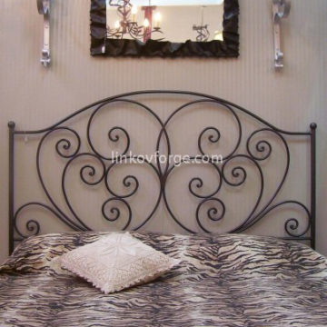 Wrought iron bed<br> 12