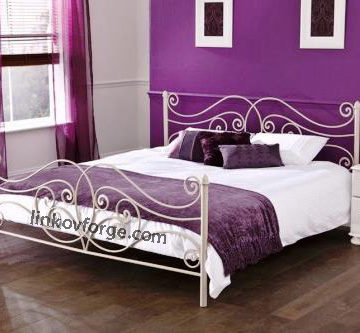 Wrought iron bed<br> 13