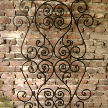 Wrought iron  Grates <br> 2