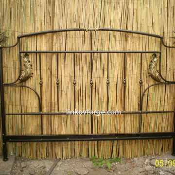 Wrought iron bed<br> 2