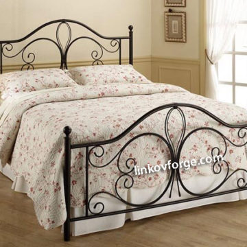 Wrought iron bed<br> 20