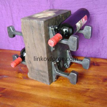 Поставка за вино от ковано желязо<br>3