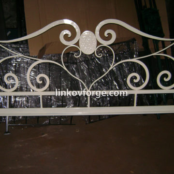Wrought iron bed<br> 5
