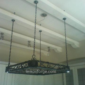 Декорация за кухня от ковано желязо