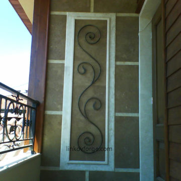 Wrought iron  Grates <br> 13