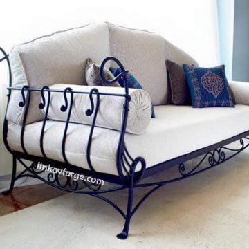 Wrought iron  Sofas <br> 6