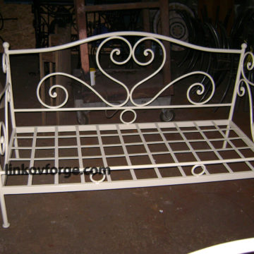 Wrought iron  Sofas <br> 7