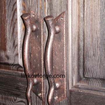 Wrought iron Door handle<br>7