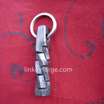 Wrought iron key ring<br> 2