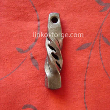 Wrought iron key ring<br> 7