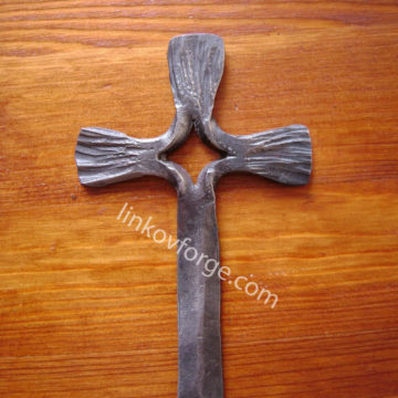 Wrought iron cross<br> 1