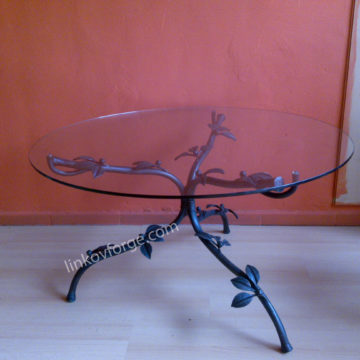 Wrought iron table<br> 1