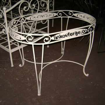 Wrought iron table<br> 11