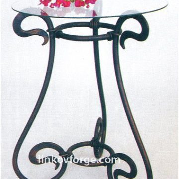 Wrought iron table<br> 20