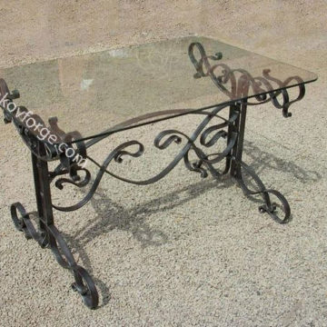 Wrought iron table<br> 3