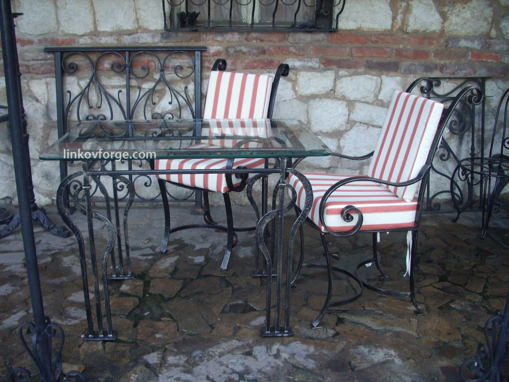 wrought iron garden furniture blacksmith linkov