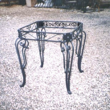 Wrought iron table<br> 9