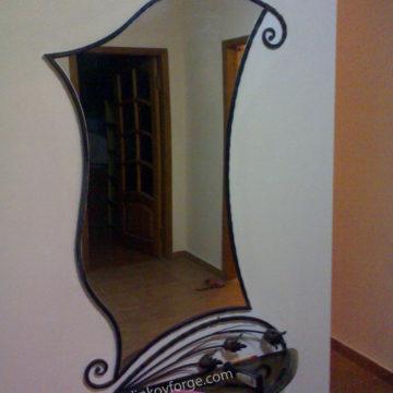 Огледало от ковано желязо <br> 12