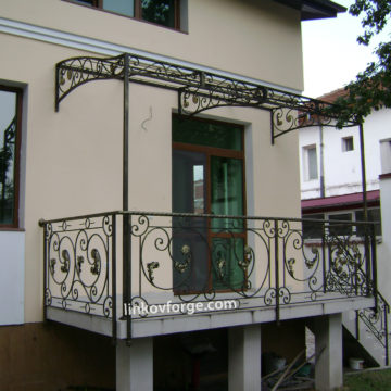 Wrought iron railing <br> 11