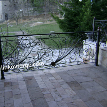 Wrought iron railing <br> 17