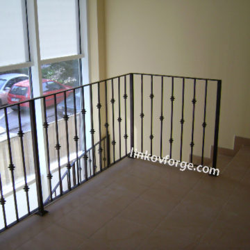 Wrought iron railing <br> 18