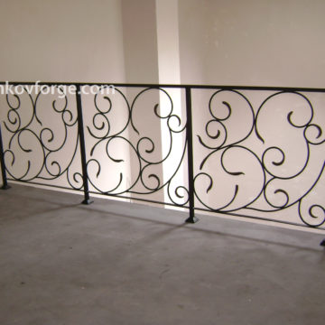 Wrought iron railing <br> 19