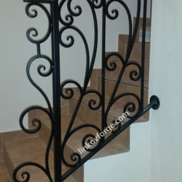 Wrought iron railing <br> 22