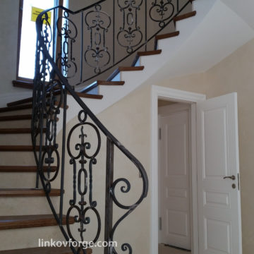 Wrought iron railing <br> 24