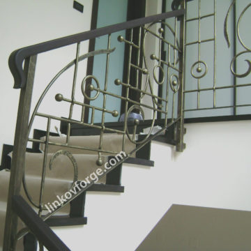 Wrought iron railing <br> 25