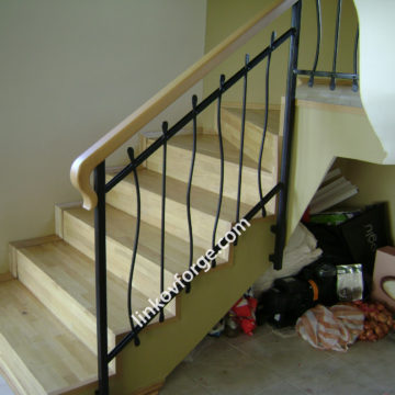 Wrought iron railing <br>
