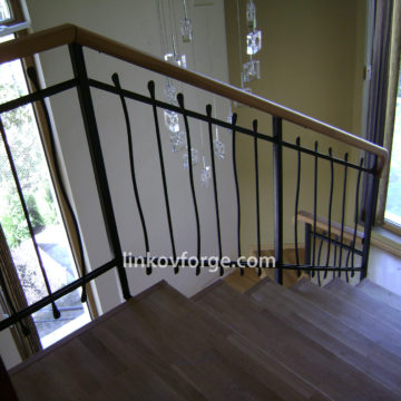 Wrought iron railing <br> 26