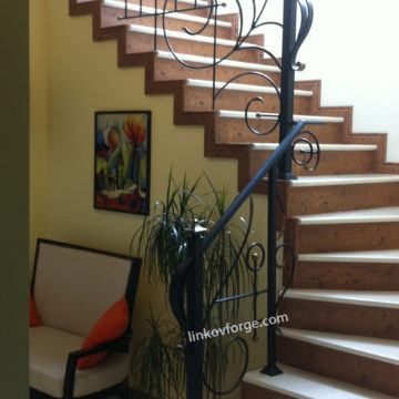 Wrought iron railing <br> 29