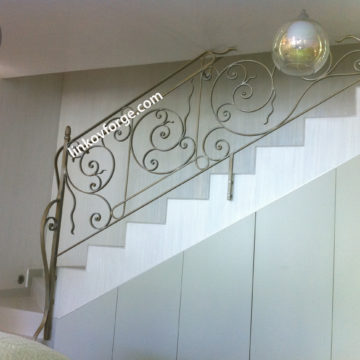 Wrought iron railing <br> 31