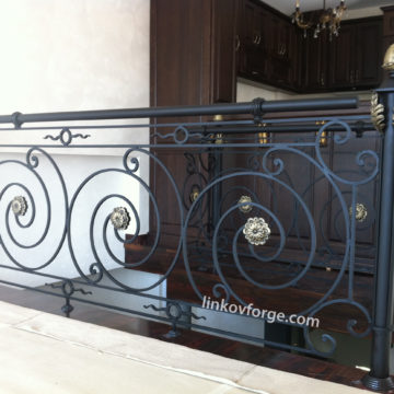 Wrought iron railing <br> 33