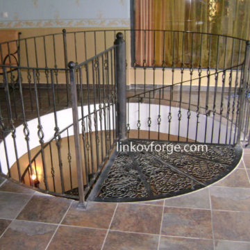 Wrought iron railing <br> 38