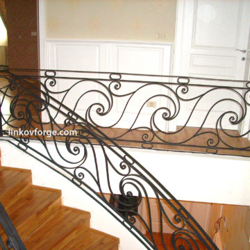 Wrought iron railing <br> 3