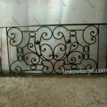 Wrought iron railing <br> 4