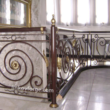 Wrought iron railing <br> 7