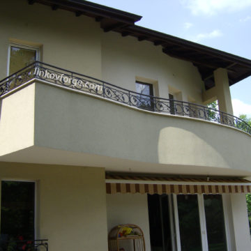 Wrought iron railing <br> 8