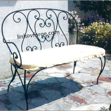 Wrought iron benche   <br>3
