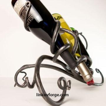 поставка за вино от ковано желязо 10 а