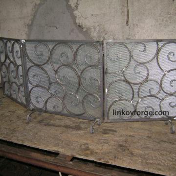 Решетка за камина от ковано желязо <br> 1