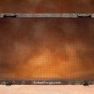 решетка за камина от ковано желязо 12