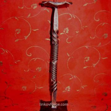 Свещник от ковано желязо  <br> 12