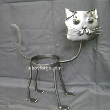 Wrought iron flower-stand <br> 2