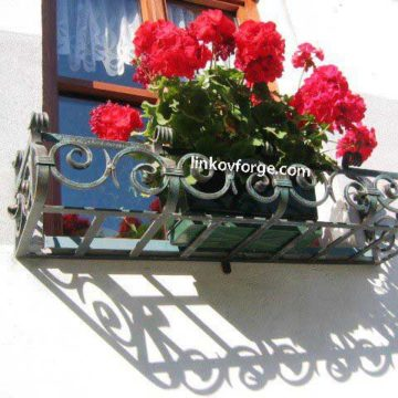 Wrought iron flower-stand <br> 11