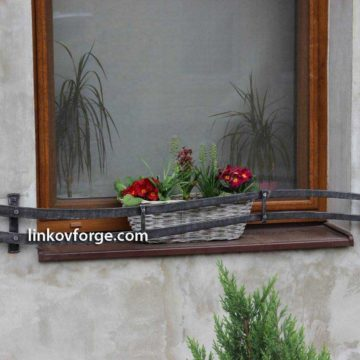 Wrought iron flower-stand <br> 16